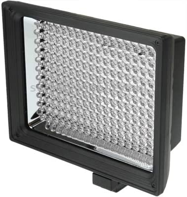 Black Premium Material XIAOMIN LED-187A 187 LED Video Light for Camera//Video Camcorder and 7.4V 4400mAh Sony NP-F770 li-ion Battery /& with Soft Sheets /& a Yellow Filters