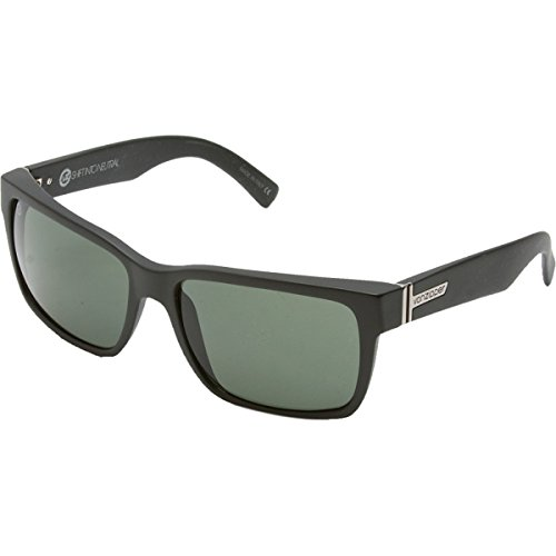 VonZipper Elmore Shift Into Neutral Square Sunglasses,S.I.N. & Black Satin,One - Sunglass Von Zipper Case