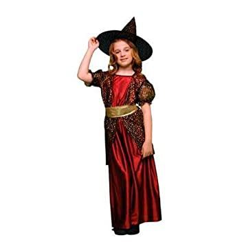 Disfraz bruja niña (7-9 años): Amazon.es: Juguetes y juegos