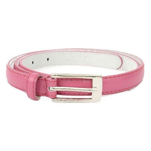 donna da Accessoryo taglie di selezione Cintura in pelle Skinny disponibile una in Ladies Pink tIqqwRS