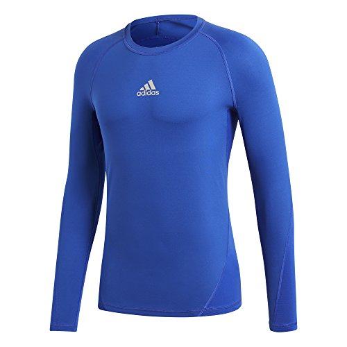 Sleeved Blue nbsp;– nbsp;camiseta Bold Ask Adidas Sprtt Long Aw6q4x