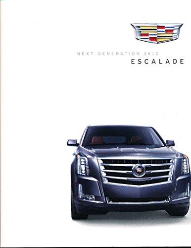 2015 Cadillac Escalade 52-page Original Dealer Car Sales Brochure Catalog