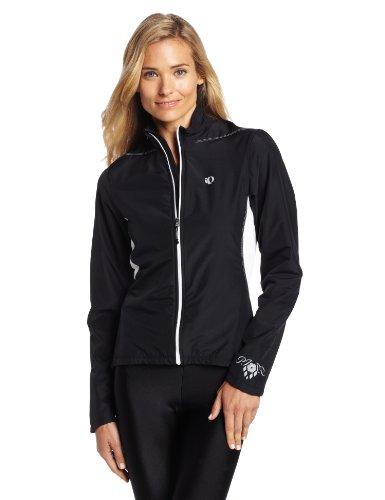 (Pearl iZUMi Women's Select Thermal Barrier Jacket, Large, Black/Black)