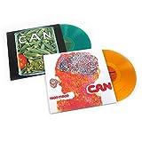 Can: Colored Vinyl LP Album Pack (Ege Bamyasi, Tago Mago)