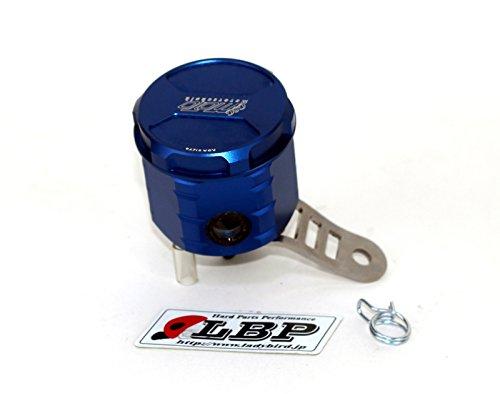 GSG Mototechnik ( ) 製 HONDA VTR 1000 F (SC36) 用 フロント ブレーキ マスター リザーバー オイル タンク アルミ削り出し BLUE (青色) アルマイト 仕上げ + ステンレス製 タンクステー (ラバーマウント付) セット   B00BP4KL2C
