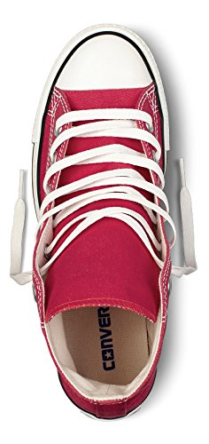 Converse Unisex Chuck Taylor All-Star High-Top Casual Sneakers in and Classic Style and Color and in Durable Canvas Uppers B01FVP9AI6 39 M EU / 8 B(M) US Women / 6 D(M) US Men|Red 5fff96