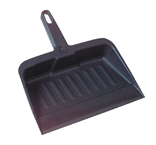 - Rubbermaid Commercial 12.25 Inch Heavy Duty Dustpan, Charcoal, (FG200500CHAR)