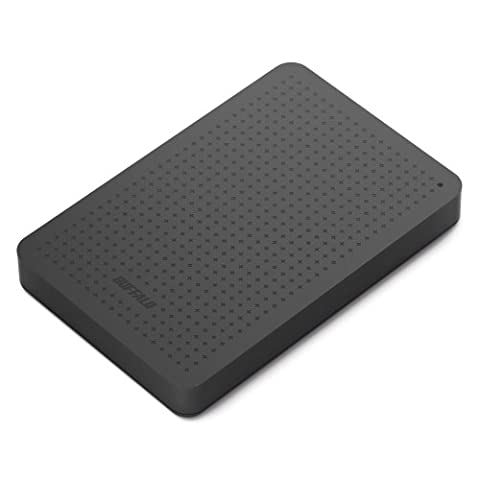 Buffalo MiniStation USB 3.0 1 TB Portable Hard Drive (HD-PCF1.0U3BB) (Buffalo 1 Tb External Hard Drive)