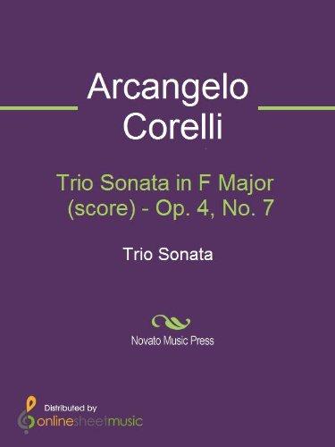 Trio Sonata in F Major  (score) - Op. 4, No. 7