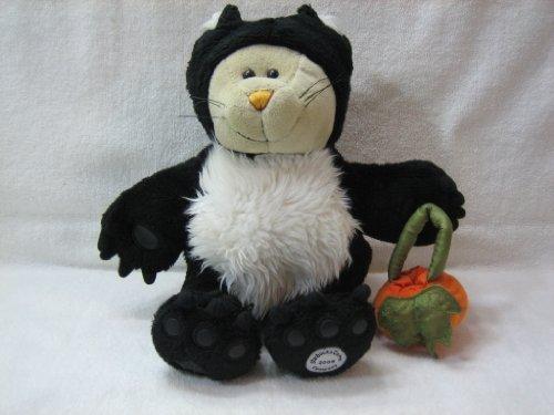 Starbucks Bearista Halloween BLACK CAT with Pumpkin 41st Edition 2005