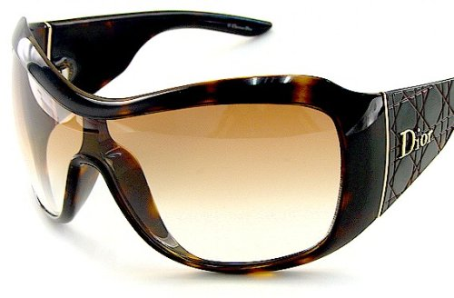 c81ba549a0d New Authentic Christian Dior Sunglasses Cannage 1 Cannage1 Atvyp Brown  Gradient Lens Havana Brown Frame Size  99-1-115  Amazon.co.uk  Clothing