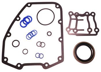 Orange Cycle Parts Complete Bottom End Gasket Kit for Harley Twin Cam 1999 and Up Models