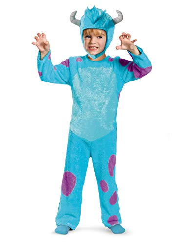 Sulley Classic Toddler Costume Size: 4 -