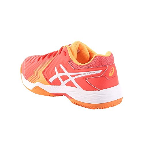 3001 6 Womens 0 38 E756Y3001 Pointure Asics GelGame Clay 5qPBnwW4