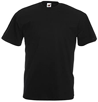 Black T-Shirt Plain Tee apparel clothing top gift for him or her ...