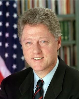 President Bill Clinton - Official photograph portrait - 8x10 Glossy Photo by Historical Photos