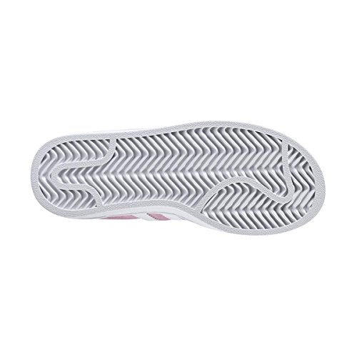 adidas Campus C, Zapatillas de Deporte Unisex Niños Rosa (Rosesc / Ftwbla / Ftwbla)