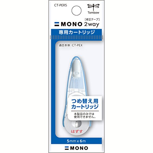 Tombow Mono 2-Way Correction Tape Refill, 1 Pack (Mono Correction Tape Colored)