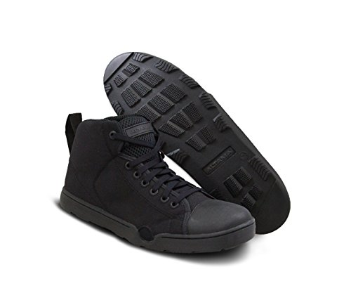 Altama OTB Maritime Assault Fin Friendly Mid Cut Operators Boots (Size 14, R, Black)