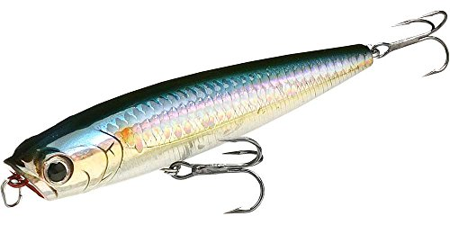 Lucky Craft Gunfish 95 Bait (MS American Shad, 4-Inch)