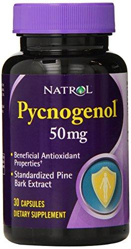 Natrol Pycnogenol 50mg Capsules Count