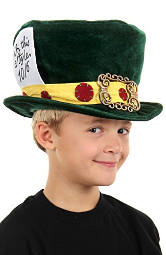 Kids Mad Hatter Plush Hat by