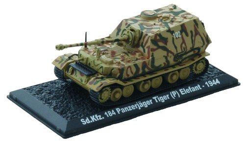 Special vehicle number 184 Elephant - 1944 die-cast 1/72 model Sd.Kfz 184 Elefant -. 1944 diecast 1:72 model (Amercom CS-45)