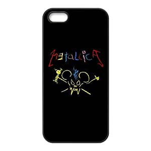 IPhone 5,5S Phone Case for Classic Band METALLICA Theme pattern design GCBMAT957317