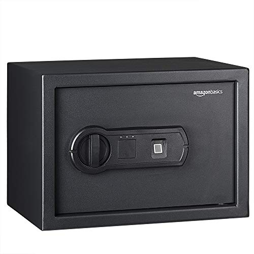 AmazonBasics Biometric Fingerprint Home Safe, 0.5 Cubic Feet - 25FIC
