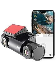 VVCAR Uber Triple Dash Cam, Full HD WDR Night Vision Dash Cam 1080P Front, 720P Rear and 720P Cabin Dash Camera, 450 Degree Triple Lense Dash Cam for Cars, 24hr Parking Mode,G-Sensor (Free 32GB SD Card) for Cars/Truck
