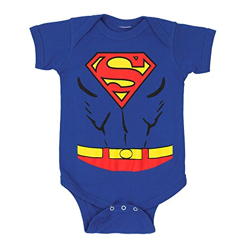 [Superman Costume Infant Snapsuit- 6-12 Months] (Lex Luthor Toddler Costume)