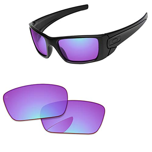 PapaViva Lenses Replacement for Oakley Fuel Cell Pro+ Magenta Golf