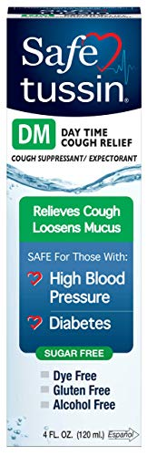 Safetussin DM Cough Formula 4 Oz