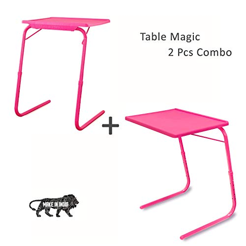 Ultra Table Mate (2Pc Pack) Strong & Study Highest Sold Product Made in India- Pink