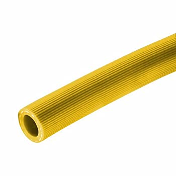 "Kuriyama Kuri Tec K4131  Series PVC Spray Reinforced Hose, 600 psi, 300' Length x 3/8"" ID, Yellow"
