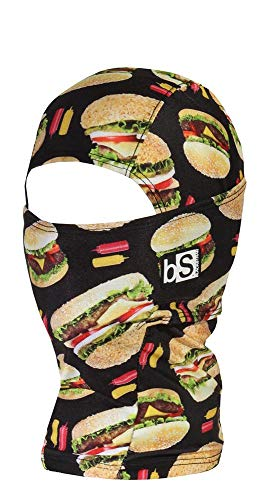 BlackStrap Kids The Hood Dual Layer Cold Weather Neck Gaiter and Warmer for Children, Good Burger