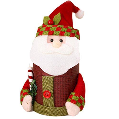 Fabric Christmas Treat Bags - 8