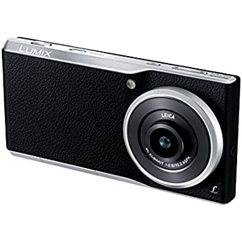 Panasonic Lumix Communication Camera with F2.8 LEICA DC ELMARIT Lens (DMC-CM10-S) - International Version