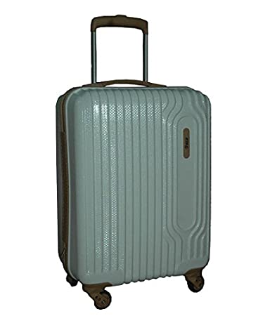 abfdc14ca VIP Polycarbonate 55 Cm Silver Hard Sided Suitcase   Trolley Bag ...