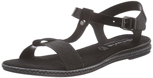 Tamaris black Glam Women's 091 Black 28149 bar Schwarz T Sandals rqgwr8F0x