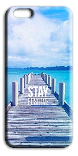 Mixroom - Cover Custodia Case In TPU Silicone Morbida Per Apple Iphone 5 5s Q249 Stare positivo Stay positive