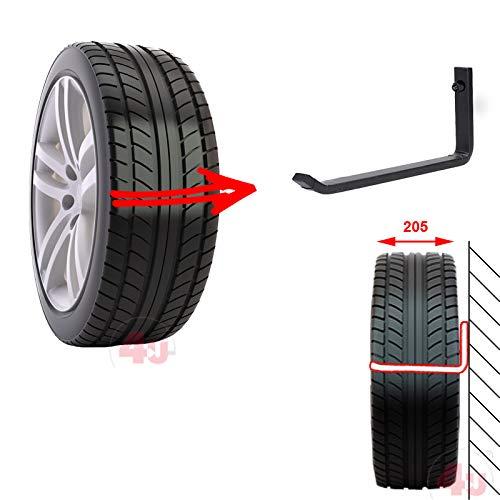 4U/® 8 x Wand-Reifenhalter Reifenhalter Wandhalterung Felgenhalter Wandhalter Reifenst/änder Felgenregal Reifenhalterung Reifenwandhalter 20cm
