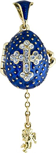 Used, danila-souvenirs Russian Faberge Style Egg Pendant for sale  Delivered anywhere in USA