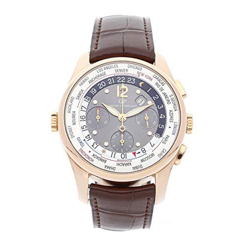 - Girard-Perregaux Worldwide Time Control Mechanical (Automatic) Grey Dial Mens Watch 49805-52-253-BACA (Certified Pre-Owned)