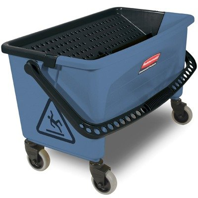 RCPQ930 - Rubbermaid Microfiber Finish Bucket, 27 Gal, Blue by Rubbermaid
