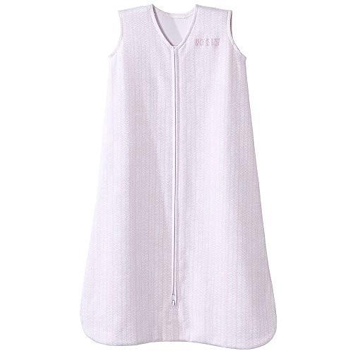 Halo Blanket Pink - Halo Sleepsack Cotton Wearable Blanket, Pink Feather, Medium