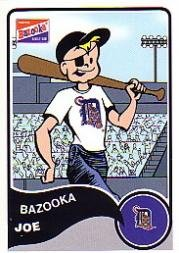 Joe Tiger (2003 Bazooka #7TI Bazooka Joe Tigers)