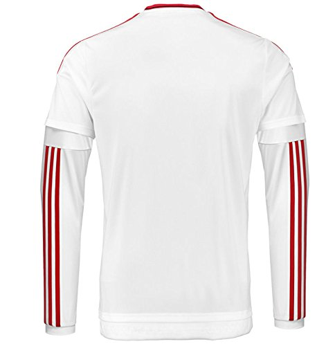 5d108e6d0 2015-2016 Man Utd Long Sleeve Away Football Soccer T-Shirt Jersey (Anthony Martial  9) - Kids