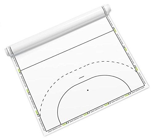 """Tuch Taktifol Set /""""Handball/"""" mit 50 Blatt 2 Rollen 4 Stifte Transporttasche"""