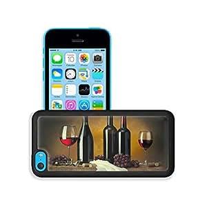 Bottles Red Grape Wine Corks iPhone 5C Case Cover niuniu's case